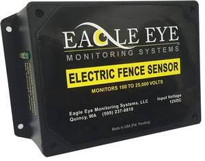 Eagle Eye Monitoring Systems Electric Fence Sensor